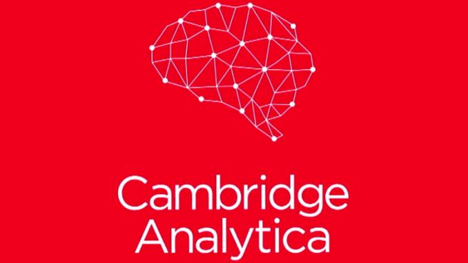 The Recent Furore Over The Activities Of Cambridgeytica