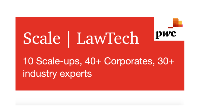 Big Four Firm PwC Joins Legal Tech Incubator Club With 'Scale