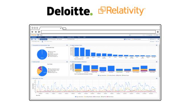 Leveraging the Big 4 To Sell LegalTech – Deloitte + Relativity Deepen Alliance – Artificial Lawyer